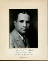 Field Secretary 008 - Martin J. Her (University of Minnesota 1927)