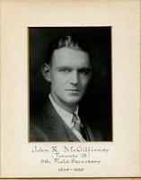 Field Secretary 009 - John R. McGillivray (University of Toronto 1928)