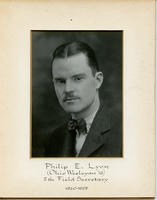 Field Secretary 005 - Philip E. Lyon (Ohio Wesleyan University 1916)