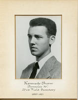 Field Secretary 023 - Kennedy Shaw (Syracuse University 1950)
