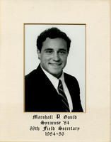 Field Secretary 088 - Marshall P. Gould (Syracuse University 1984)