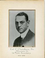 Field Secretary 001 - Cal C. Chambers, Sr. (University of Wisconsin 1912)