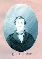 1863 - Eli Foster Ritter (DePauw University 1863)