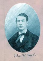 1860 - John W. Heath (DePauw University 1860)