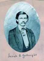 1860 - Josiah Baker Gathright (DePauw University 1860)