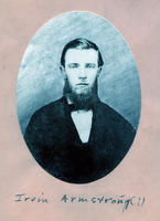 1862 - Irvin Armstrong (DePauw University 1862) - [Identity of Picture is not...
