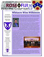 2018 April Newsletter Rho Phi (Rose-Hulman Institute of Technology)