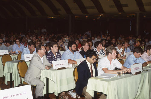 The 136th Ekklesia was held in New Orleans, Louisiana at the Fairmont Hotel, on August 12-16, 1984. There were 670 Brothers registered for the 136th Ekklesia.