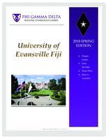 2018 May Newsletter Epsilon Iota (University of Evansville)