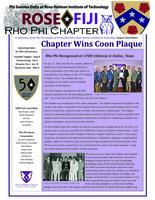 2018 August Newsletter Rho Phi (Rose-Hulman Institute of Technology)