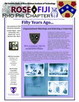 2018 August 10 Newsletter Rho Phi (Rose-Hulman Institute of Technology)