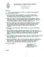 1975 Spring Newsletter Rho Alpha (Virginia Tech)