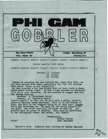 1980 Fall Newsletter Rho Alpha (Virginia Tech)