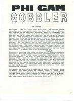 1983 Fall Newsletter Rho Alpha (Virginia Tech)