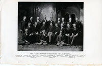 1891 Group Picture of the California Berkeley Chapter
