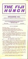 1921 September Newsletter Xi Deuteron (Case Western Reserve University)