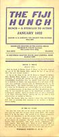 1922 January Newsletter Xi Deuteron (Case Western Reserve University)