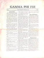 1905 November Newsletter Gamma Phi (Pennsylvania State University)