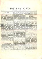 1908 March Newsletter Theta (University of Alabama)