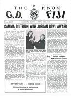 1960 Spring Newsletter Gamma Deuteron (Knox College)