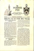1930 Fall Newsletter Delta Xi (University of California Berkeley)