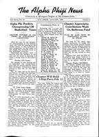 1938 January Newsletter Alpha Phi (University of Michigan)