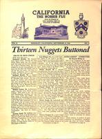 1938 September 19 Newsletter Delta Xi (University of California Berkeley)