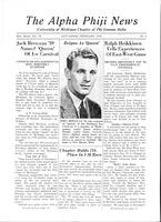 1939 February Newsletter Alpha Phi (University of Michigan)