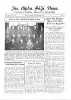 1940 December Newsletter Alpha Phi (University of Michigan)