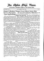 1940 June Newsletter Alpha Phi (University of Michigan)