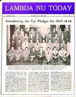 1947 October Newsletter Lambda Nu (University of Nebraska)