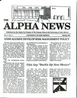 1989 Spring Newsletter Alpha Nu (University of New Mexico)