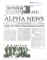 1991 Spring Newsletter Alpha Nu (University of New Mexico)