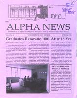 1992 Spring Newsletter Alpha Nu (University of New Mexico)