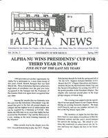 1995 Spring Newsletter Alpha Nu (University of New Mexico)
