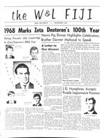 1967 December Newsletter Zeta Deuteron (Washington & Lee University)