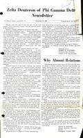 1968 December Newsletter Zeta Deuteron (Washington & Lee University)