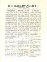 1907 November Newsletter Lambda Iota (Purdue University)