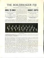 1909 February Newsletter Lambda Iota (Purdue University)