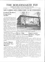 1958 November Newsletter Lambda Iota (Purdue University)