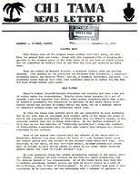 1960 November Newsletter Chi (Union College)