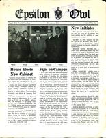1961 November Newsletter Epsilon (North Carolina)