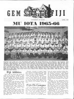 1966 April Newsletter Mu Iota (University of Idaho)