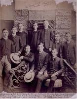 1884 - Brothers of the Kappa Deuteron Chapter at the University of Georgia