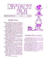1968 Spring Newsletter Gamma Phi (Pennsylvania State University)