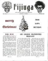 1969 December Newsletter Kappa Deuteron (University of Georgia)