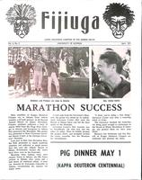 1971 April Newsletter Kappa Deuteron (University of Georgia)