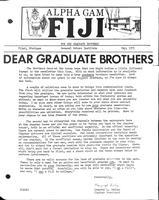 1971 May Newsletter Alpha Gamma (Kettering University)