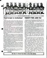 1972-73 Winter Newsletter Gamma Tau (Georgia Institute of Technology)