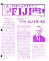 1969 Spring Newsletter Alpha Gamma (Kettering University)